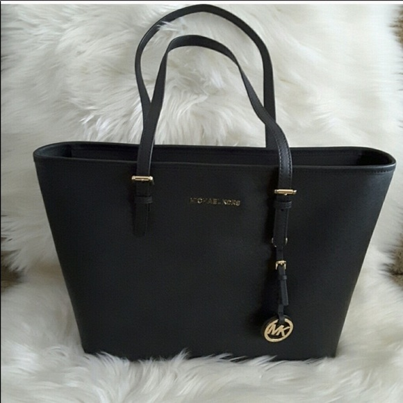 Michael Kors Black mini tote bag with dust bag